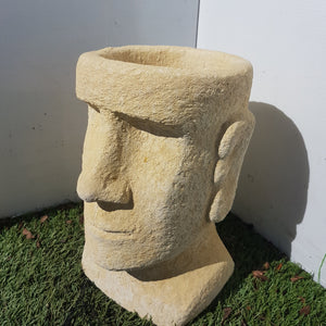 Easter Island Planter Cream Mini