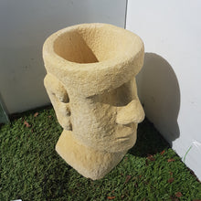 Load image into Gallery viewer, Easter Island Planter Cream Mini