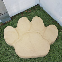 Load image into Gallery viewer, Animal Paw Stepping Stone (Buff Gold) 40cm x 31cm
