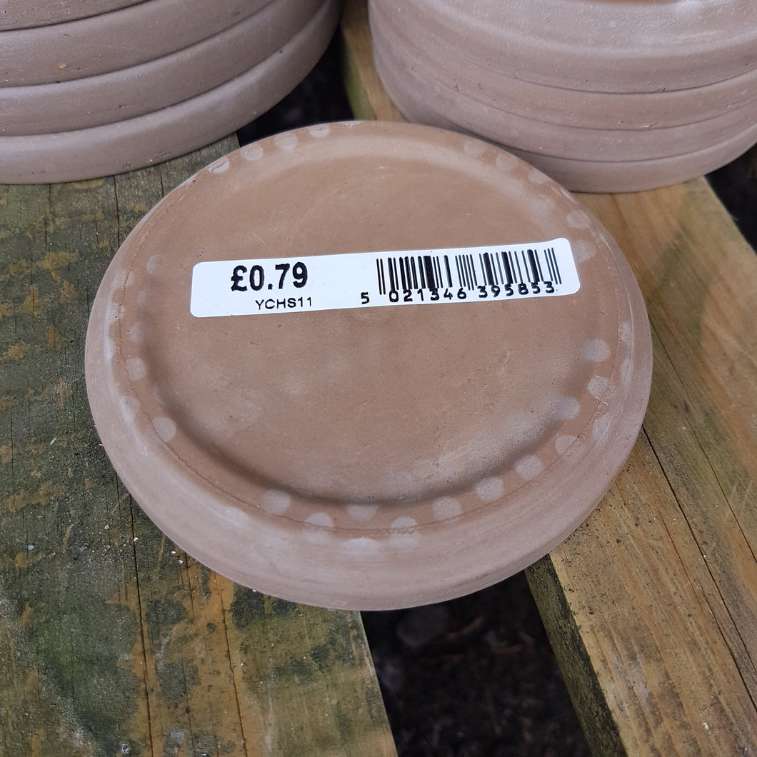 Spang Chocolate Terracotta Saucer 11cm