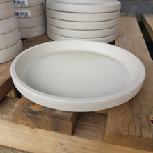 Load image into Gallery viewer, Spang White Terracotta Saucer 17cm