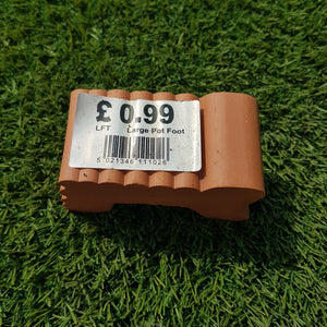 Pot Feet - Terracotta Large (sold individually)
