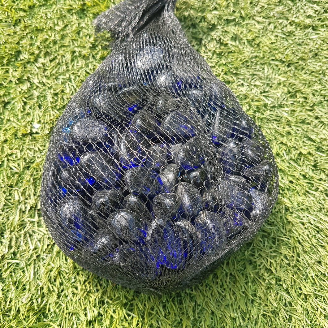 Blue Decorative Pot Toppings - 1kg Bag