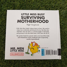 Load image into Gallery viewer, Little Miss Busy 'Surviving Motherhood' Book