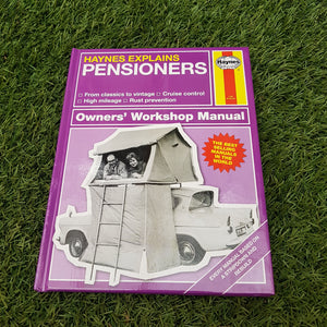 Haynes Explains 'Pensioners' Book