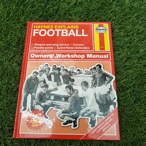 Haynes Explains 'Football' Book