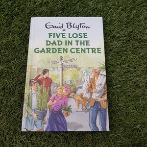 Five 'Lose Dad In The Garden Centre' Book