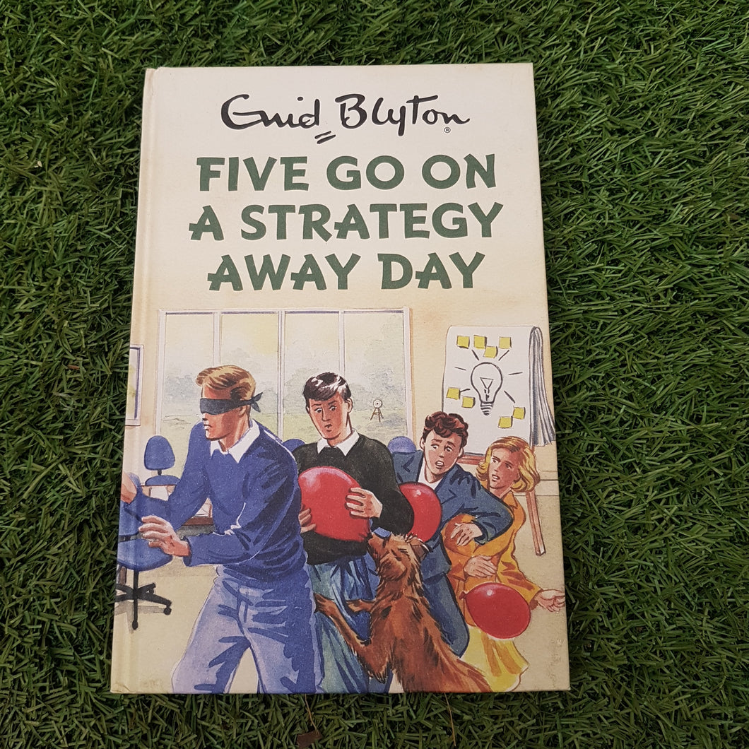 Five 'Go On A Strategy Away Day' Book