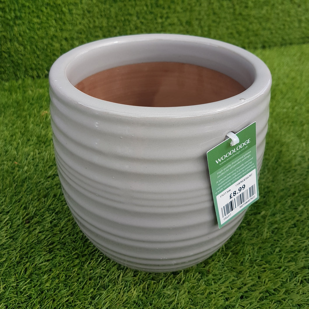 Pulse Mix Egg Pot 'Grey' (Click to See More Sizes)