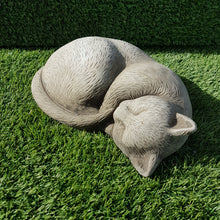 Load image into Gallery viewer, Sleeping Cat Small Antique Grey