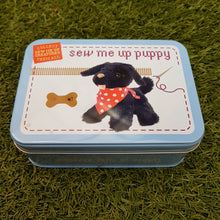Load image into Gallery viewer, Sew me up Puppy (Gift in a Tin)