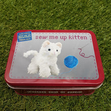 Load image into Gallery viewer, Sew me up Kitten (Gift in a Tin)
