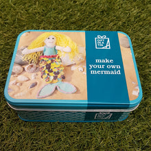Load image into Gallery viewer, Make Your Own Mermaid (Gift in a Tin)