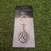 Load image into Gallery viewer, Game Of Thrones Mother Of Dragons Keyring
