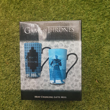 Load image into Gallery viewer, Game Of Thrones Heat Changing Latte Mug 'Winter Is Coming'