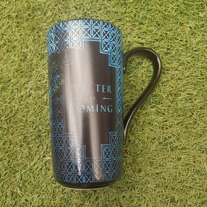 Game Of Thrones Heat Changing Latte Mug 'Winter Is Coming'