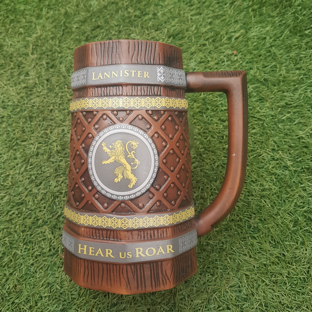Game Of Thrones Collectable Stein 'Lannister Hear Us Roar'