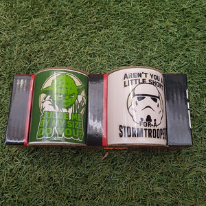 Star Wars Yoda & Storm Trooper Mini Mug Gift Set