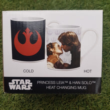 Load image into Gallery viewer, Star Wars Princess Leia & Han Solo Heat Changing Mug