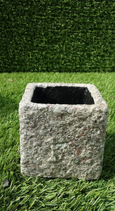 Indoor Sandstone Square Pot Mini 3cm x 3cm