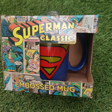 Load image into Gallery viewer, DC Superman Classic Embossed Mug