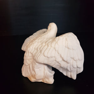 Eagle with Spread Wings (Height: 9cm)