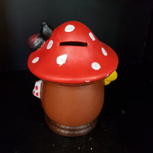 Load image into Gallery viewer, Mushroom House Money Box (Height 16cm)