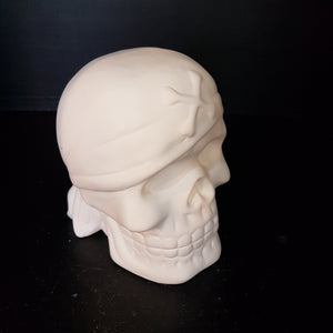 Skull Money Box (Height 12.5cm)