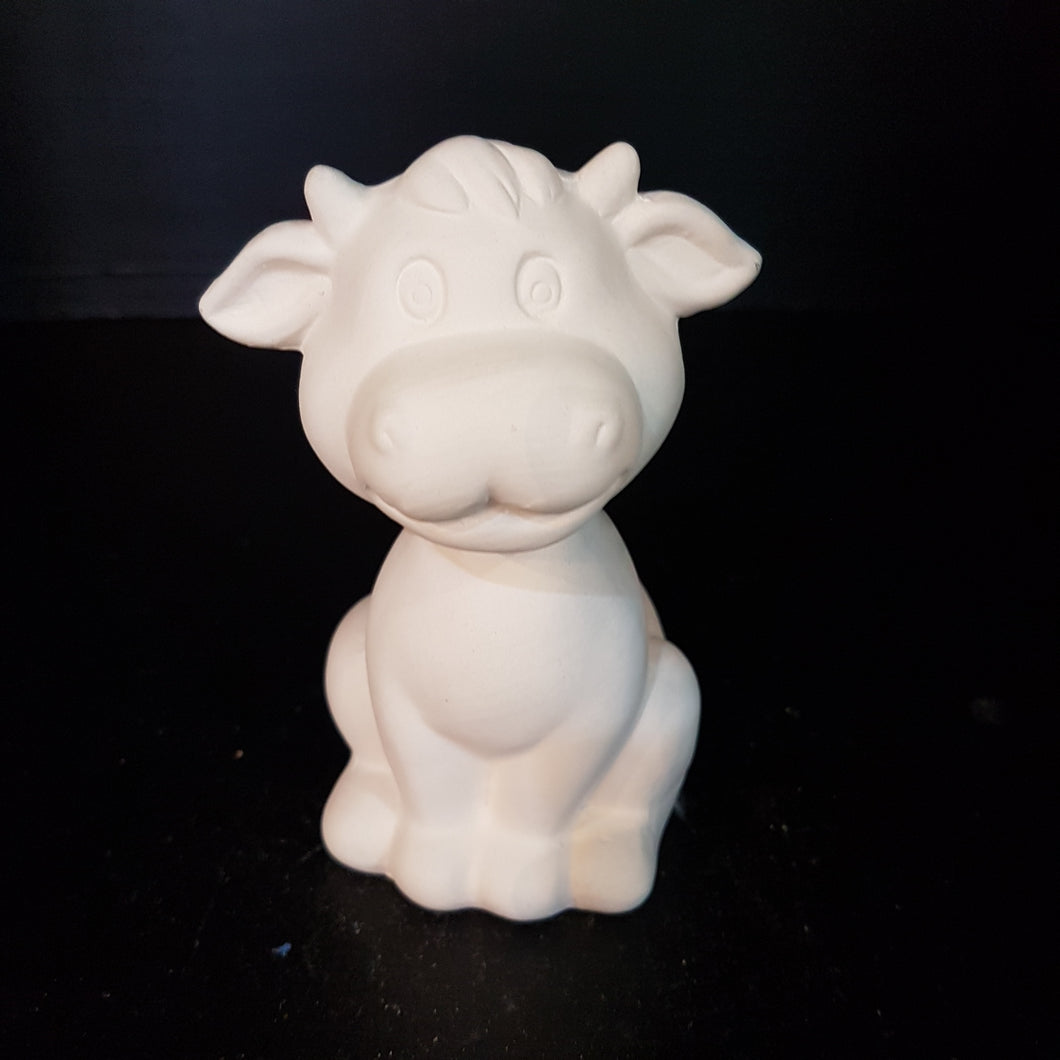 Cow Sitting (Height 12cm)