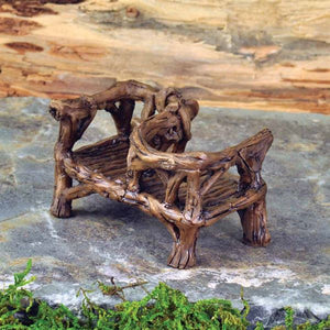 Rustic Courting Bench