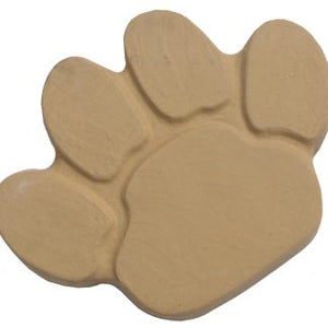 Animal Paw Stepping Stone (Buff Gold) 40cm x 31cm