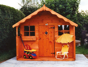 Claire's Cottage Playhouse Shaws for Sheds