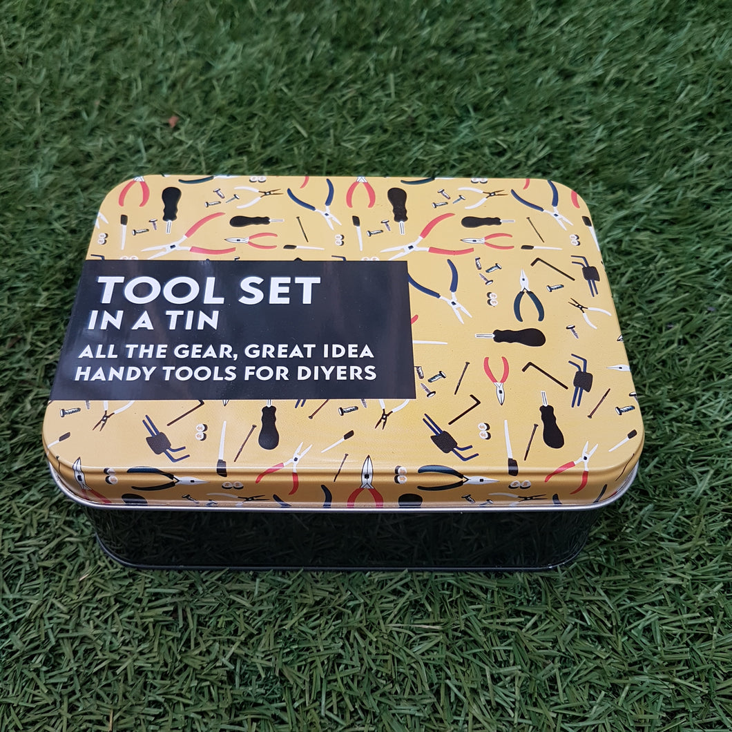 Tool Set In A Tin