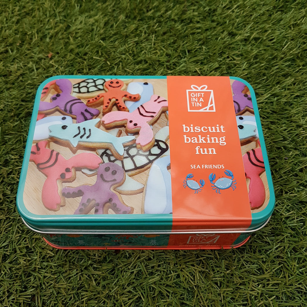 Biscuit Baking Fun Sea Friends (Gift in a Tin)