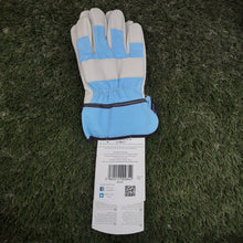 Load image into Gallery viewer, Kids Rigger Leather Gardening Gloves Ages 8-12