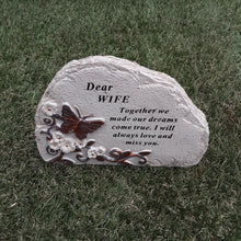 Load image into Gallery viewer, Butterfly Memorial Plaque