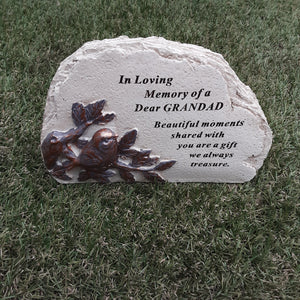 Bird Memorial Plaque