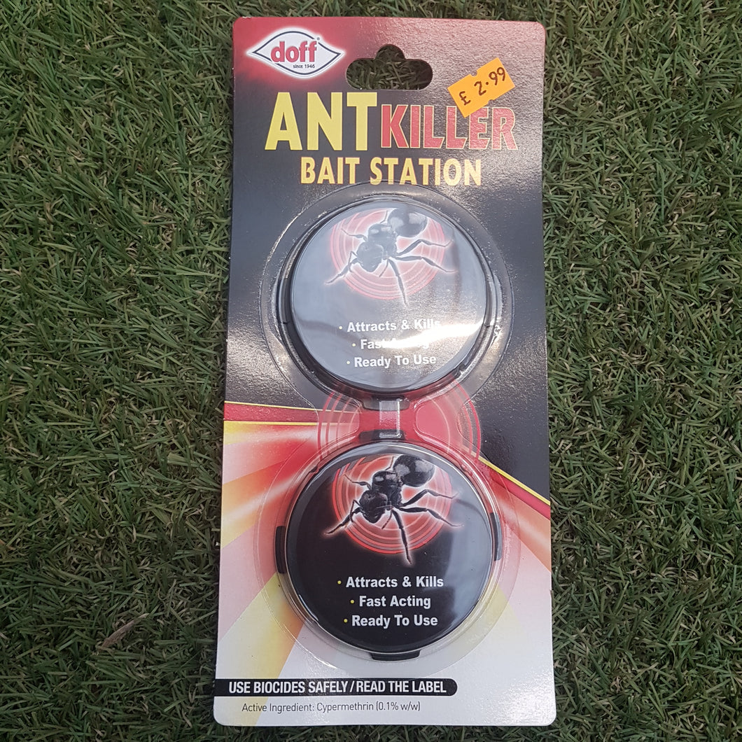 Ant Killer Bait Station 2 Pack - Doff