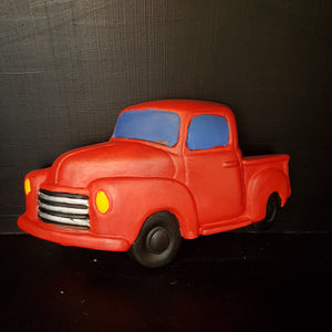 Truck Wall Plaque (Length: 19.5cm)