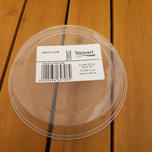 Load image into Gallery viewer, Clear Plastic Saucer 14cm