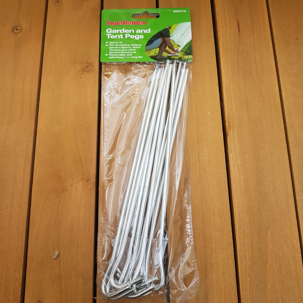 Garden and Tent Pegs (23cm Long)