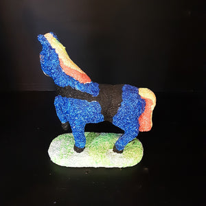 Horse On A Stand (Height 19cm)