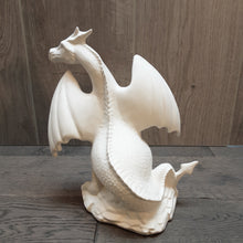 Load image into Gallery viewer, Large Dragon On A Rock (Height 23cm)