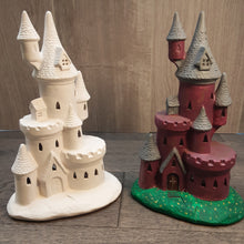 Load image into Gallery viewer, Tea Light Castle (Height 27cm)
