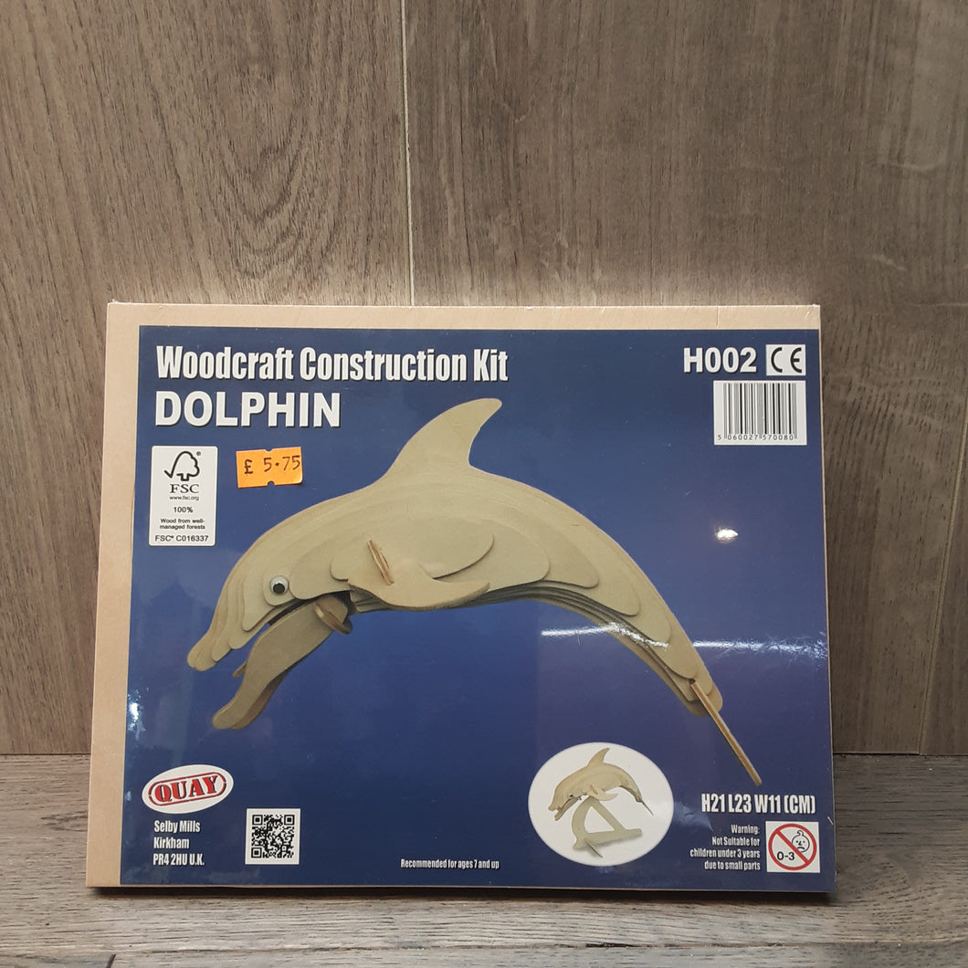 Dolphin Woodcraft Construction Kit