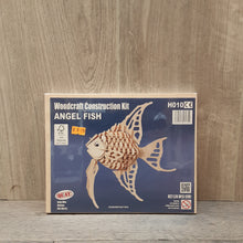 Load image into Gallery viewer, Angel Fish Woodcraft Construction Kit