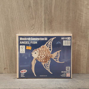 Angel Fish Woodcraft Construction Kit