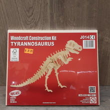 Load image into Gallery viewer, Tyrannosaurus Woodcraft Construction Kit