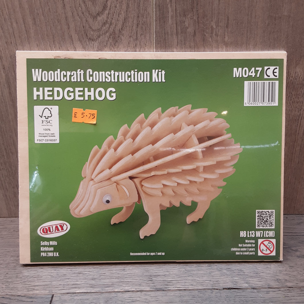 Hedgehog Woodcraft Construction Kit