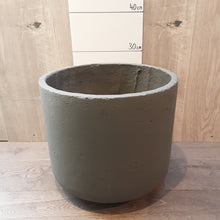 Load image into Gallery viewer, Large Indoor Concrete Pot Black